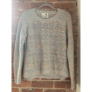 Kensie Sweater - Gray w/ Multi-Color Speckles